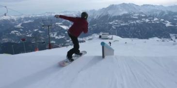 snowboard acrobatics